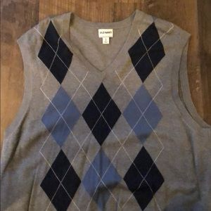Men's V Neck Sweater Vest